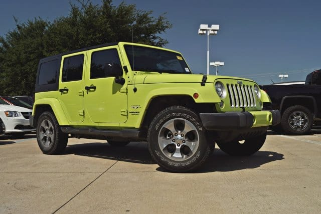 Small Jeep tires.