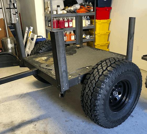 DIY offroad trailer corners.