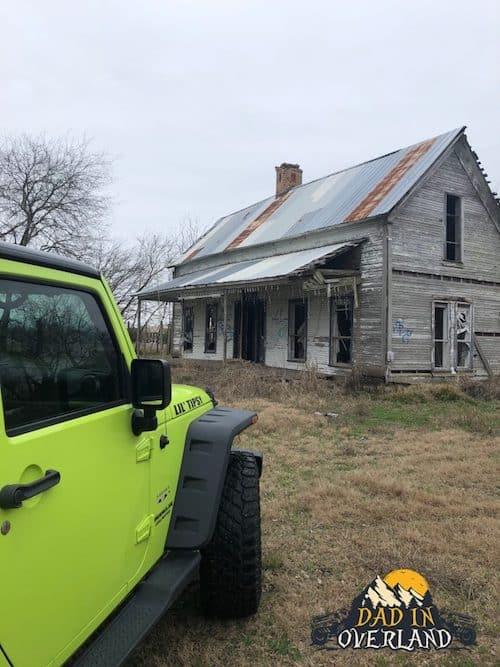 Abandoned House In Rockwall TX.