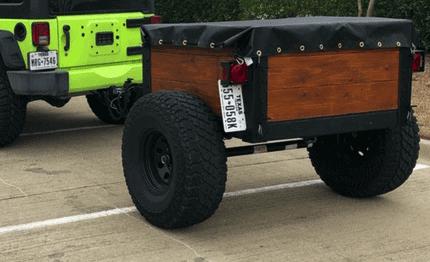 Tar for overland trailer