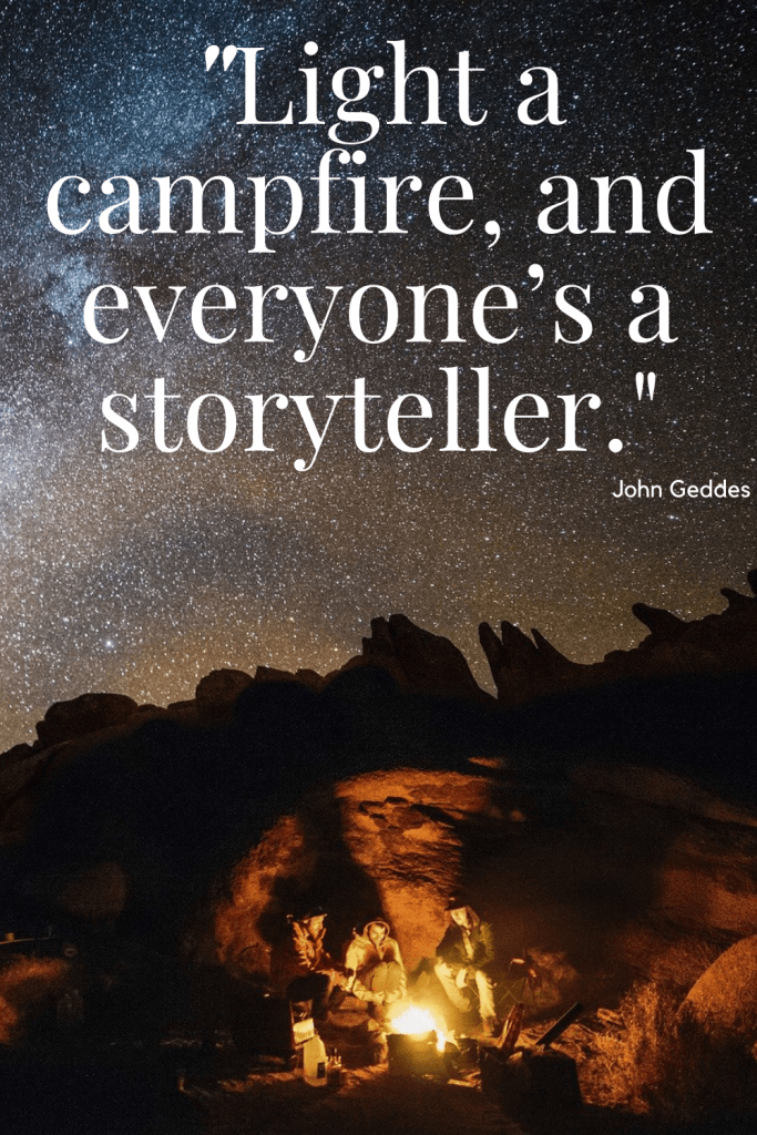 Quote About Campfires