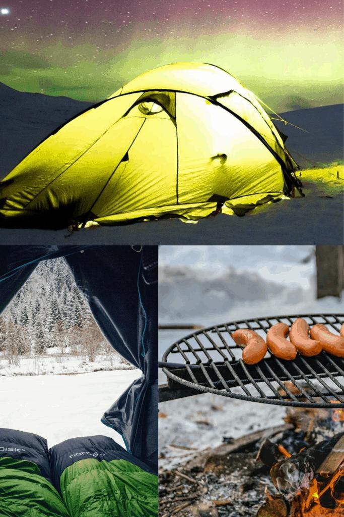 Fall Camping Tip Pin