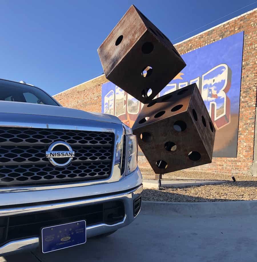 Roadside attraction in Decatur TX.