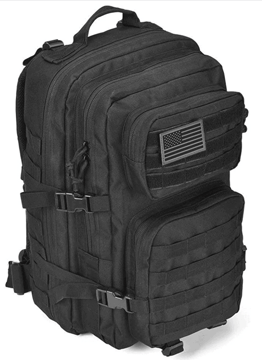 A Tactical Military Style Backpack