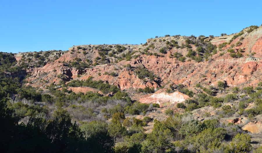 Picture of Palo Duro Canyon from a review.