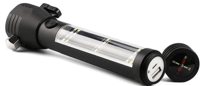 Solar Tactical Flashlight